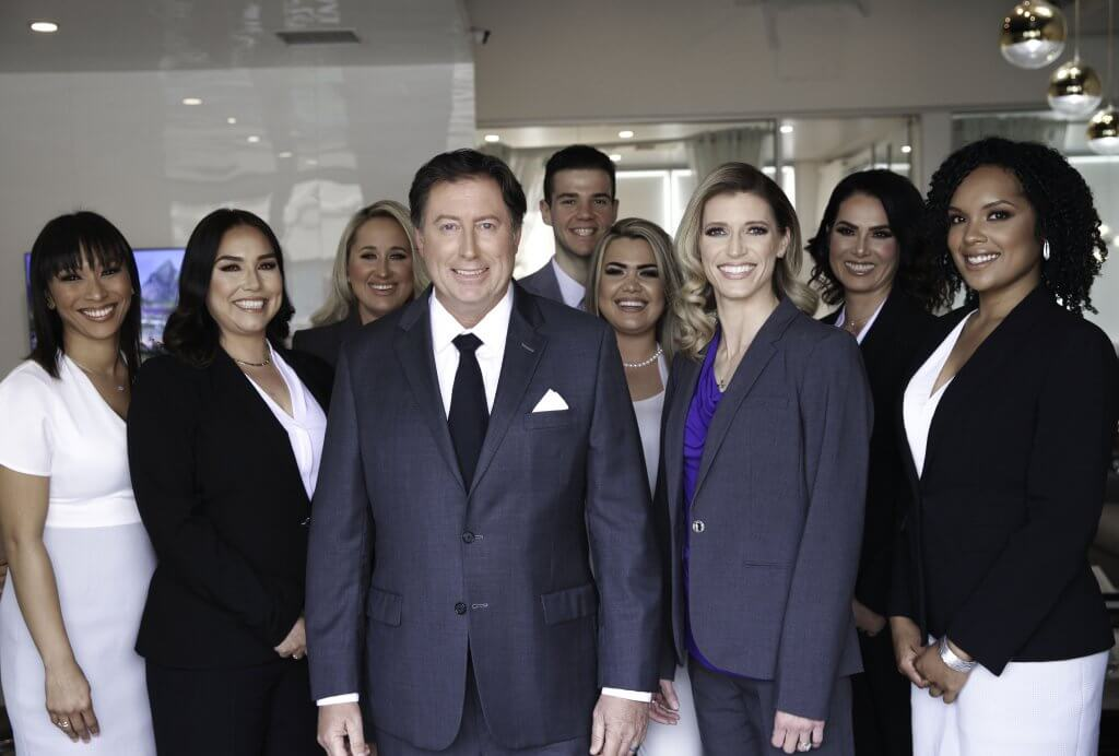 John O. Clune personal injury attorney and team